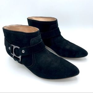 Belle Sigerson Morrison Suede Harness Ankle Boot